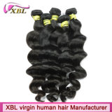 Prolongation philippine de cheveux d'approvisionnement d'usine de cheveux humains de Vierge