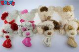 Peluches Peluche acostado perro de color beige con animales tan oído y Cojin corazon Bos1190