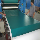 Лист резины силы тяжести экстренный выпуск ESD 1.5 голубой черноты