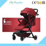 Cochecito de bebé plegable One-Key ligero de aleación de aluminio/cochecito de bebé