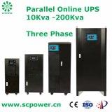 UPS em linha paralelo doméstico do UPS 100kVA do uso do dispositivo de qualidade superior
