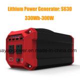 Generador Portátil Inversor de potencia 300 W Batería de herramientas de Emergencia exterior