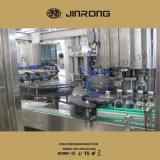Volledig Automatische het Afdekken van de Was van de Drank van de Fles van het Glas het Vullen Machine