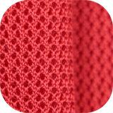 Los antimicrobianos de poliéster y antibacteriano Silla de escritorio Separador de tejido de malla 3D