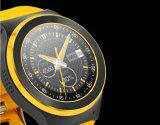 カメラが付いている3G WiFiのスポーツのデジタル手首のスマートな腕時計