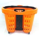 Cabo telescópico da cesta de compras de plástico (ZC-13)