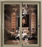 Japanisches gleitendes Aluminiumfenster bilden