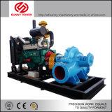 Installation de la pompe à eau Diesel avec tuyaux PE