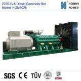 Dieselset des generator-2750kVA mit Googol Motor 50Hz