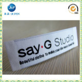 Plus récent Customized Satin Size Woven Label for Clothing (JP-CL028)