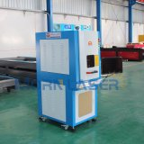 Máquina de la etiqueta de plástico del laser del cartón de la fibra de la alta precisión