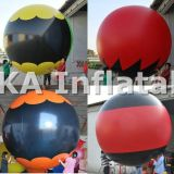 Ballon publicitaire en PVC pour publicité gonflable en plein air