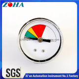 Mini manómetro do OEM seletor colorido Speical de 1.5 polegadas para a máquina do café sem chumbo