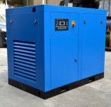 Electric de tornillo rotativo lubricado con aceite el compresor de aire