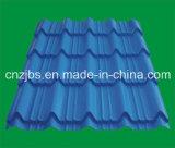 Qualitäts-China produzierte farbige glasig-glänzende Metalldach-Fliese