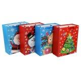Saco creativo do presente do Natal do estilo novo da venda por atacado 2017 com uma superfície plana ou estilo 3D