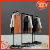 Ropa del metal departamento estante Display System