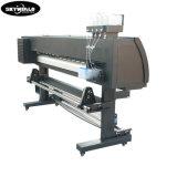 1.6M impressora jato de tinta por sublimação de tinta de grande formato com 4 cabeça de impressão