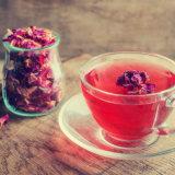 Nuevo Fannings Rose mezcla de té negro té para la venta