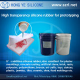 半透明な40 Shore Rapid Prototyping Silicone Rubber、Low ShrinkageのAddition Silicone Rubber