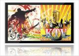 壁に取り付けられたデジタル表記LCDの広告プレーヤーの対話型のタッチ画面