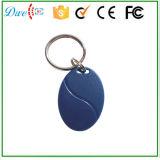 A proximidade RFID Keyfob de Em-IDENTIFICAÇÃO de Tk4100 125kHz com número do cartão imprimiu um controle de acesso Keytag da garantia do ano