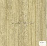 L'estampage à chaud en bois de feuilles en PET pour WPC MDF en PVC