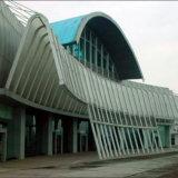 Panneau en aluminium de forme d'arc pour la décoration de transport