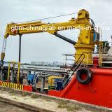 5-25 Ton puerto hidráulico nudillo brazo de la grúa marina con ABS Certificado BV