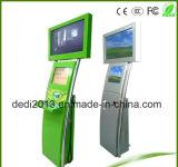 Quiosque de pagamento Toque em Tela Dupla com numerário aceptora de moedas