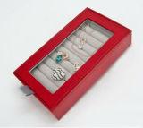 Boîte de empaquetage de bijoux de papier faits sur commande de qualité