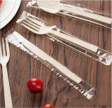 Schwergewichts- Plastiktischbesteck-gesetzte Löffel-Messer-Gabel, Plastikpicknick-Sets