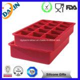 Bandeja de cubo de gelo de silicone personalizada Bandeja de gelo ideal Cube
