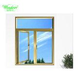 첨단 기술 열 틈 두 배 창유리 알루미늄 합금 여닫이 창 Windows