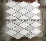 大理石のモザイク、白い大理石のモザイク、Modaicのタイル
