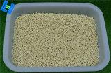 La litera de gato fuerte del maíz del control del olor para los gatos pone en orden
