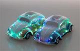 Mini mini haut-parleur stéréo par radio de Bluetooth de lumières de véhicule coloré transparent de subwoofer