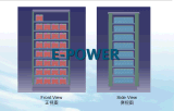 sistema di conservazione dell'energia 20kwh con il pacchetto della batteria di litio