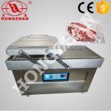 Máquina de embalaje al vacío con gas nitrógeno a ras y sellado automático