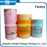 Горячая продажа красочные Пэт Печать упаковочных пленок для использования во влажной ткани/Детский влажных салфеток