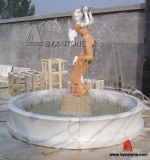 Granite / Marbre Stone Sculpture Water Garden Fountain for Decoration