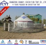 Tente mongole ethnique du diamètre 5m Yurt fabriquée en Chine