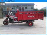 Drei fahrbares Motorrad