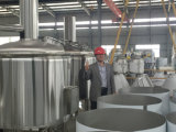 Tanques de fermentação de lustro da cerveja do espelho SUS304 material de Jinan Zhuoda