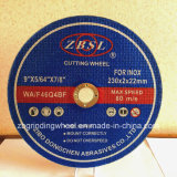 Ausschnitt-Platte für Inox-115X1.6X22.2