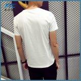 둥근 목을%s 가진 주문 면 t-셔츠