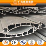 Is Alloy gold Not and Customized Shape Aluminum Profile for Rolling Shutter