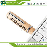 Formato de caneta de madeira natural 8 GB de disco Flash drives USB