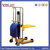 Empilhador hidráulico com placa plana para venda
