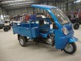 Motocicleta motorizada barata de la rueda del motor tres